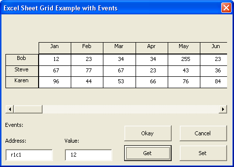 The blog excel for Table design grid access